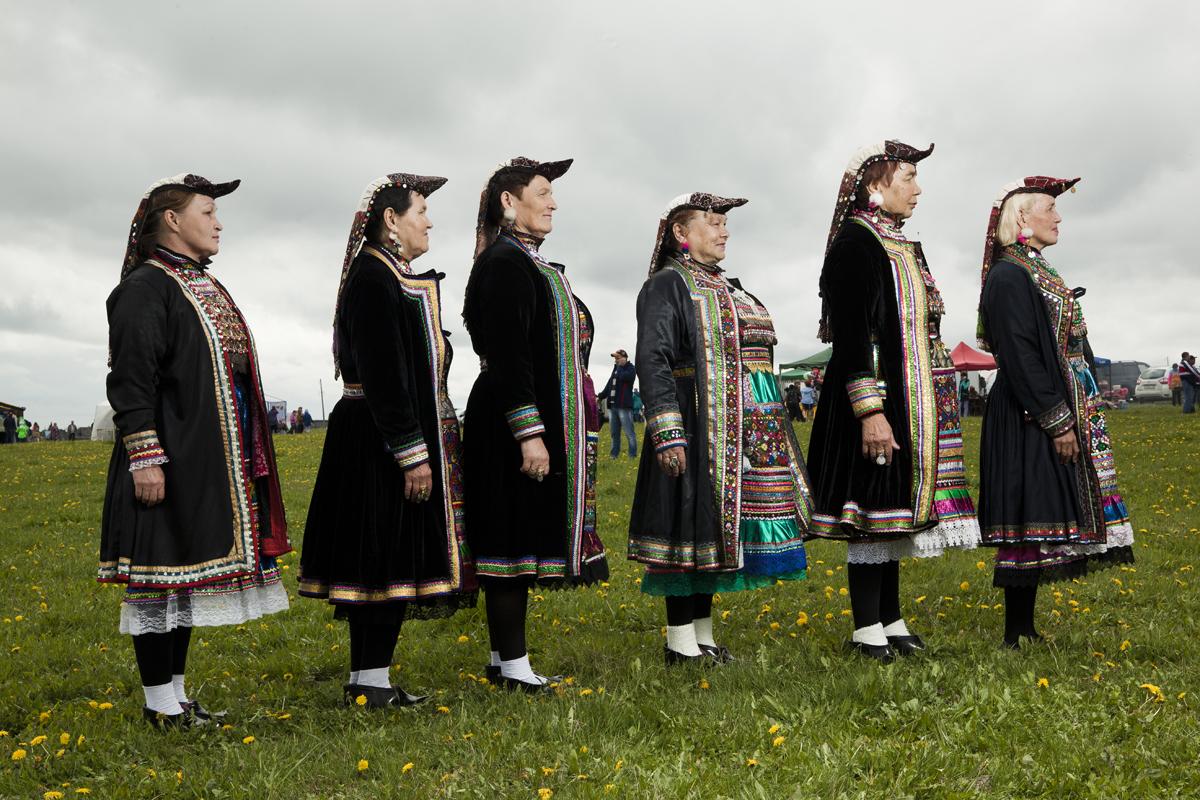 Народный коллектив из деревни Курки, Свердловская область